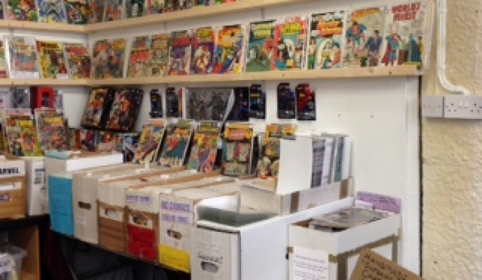 Garden Centre: An Independent Comics & Science Fiction